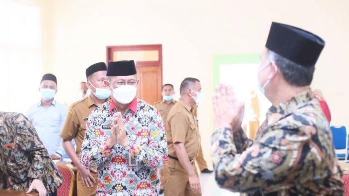 Jaga Kemajemukan dan Tali Persaudaraan Antar Umat Beragama di Bolmut, Pemerintah Kabupaten Bolmut Terima Kunjungan BKSAUA Provinsi Sulut.