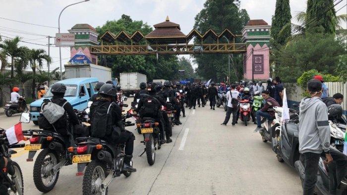 8 Anak Buah Kapolri Idham Azis Positif Covid 19, Ini Yang Dilakukan Sebelumnya, Pengamanan Demo