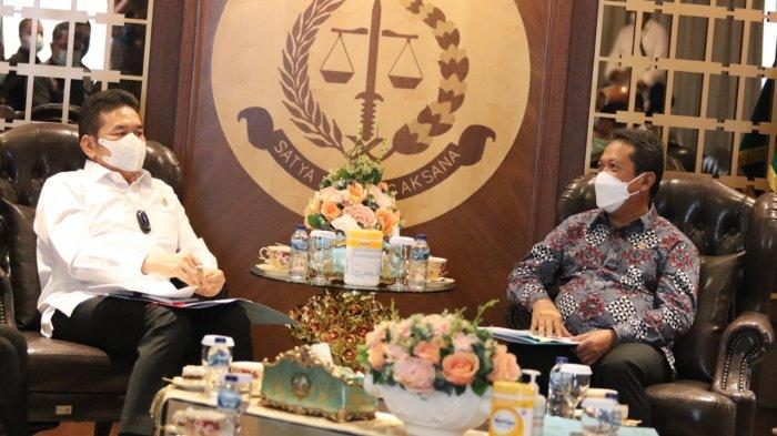 Jaksa Agung Republik Indonesia, Terima Kunjungan Kerja Dengan Menteri Kelautan dan Perikanan