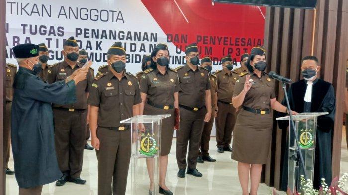 Jaksa Agung Lantik Anggota Satgassus P3TPU, Sampaikan Pesan Penting Ini