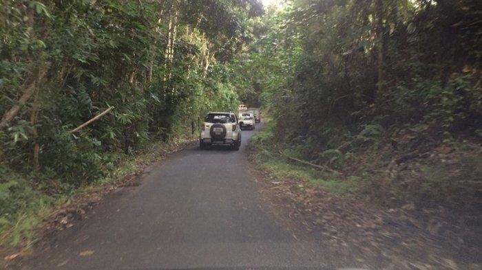Penjagaan Lalu Lintas di Pangu Mitra Amburadul, Sejumlah Masyarakat Tersesat