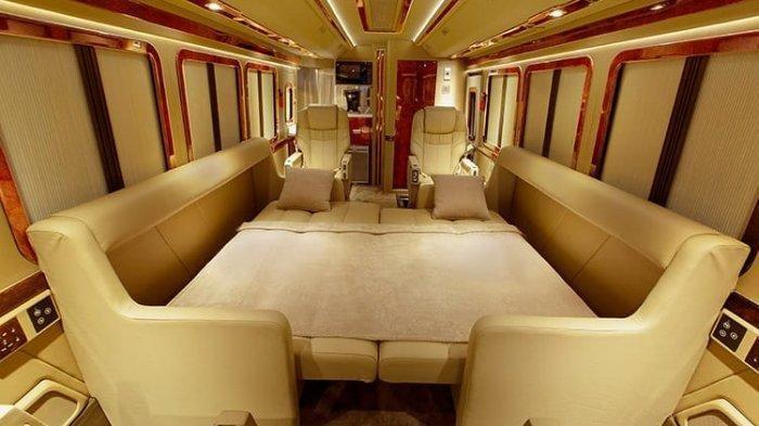 Jalan-jalan AlaSultan di Kabin Bus Mercedes-Benz OF 917, Konsep Buatan BAV Luxury Auto Design