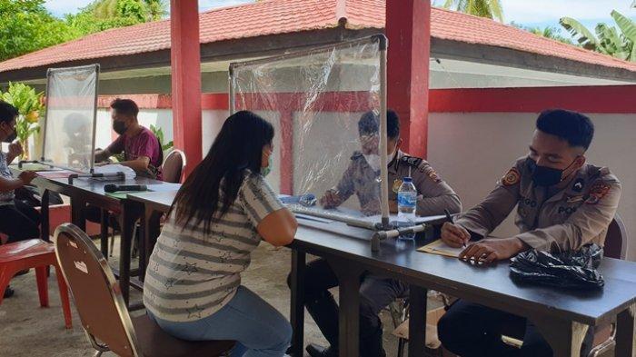 Polda Sulut dan Polres Sitaro Gelar Pelayanan Pembuatan SIM
