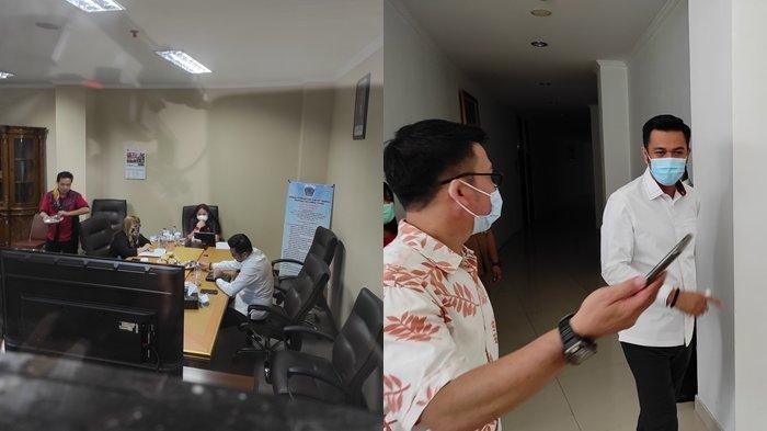 James Arthur Kojongian (JAK) menjalani pemeriksaan oleh BK Deprov Sulut, Senin (01/02/2021).