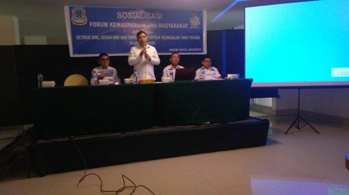 BMKG Beber Potensi Gempa dan Tsunami di Sulut, Karinda Ajak FKDM Manado Lawan Provokator