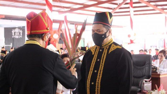 Dr. Jan Maringka Staf Ahli Jaksa Agung Ditetapkan jadi Tonaas Wangko Gumi'iroth Um Banua