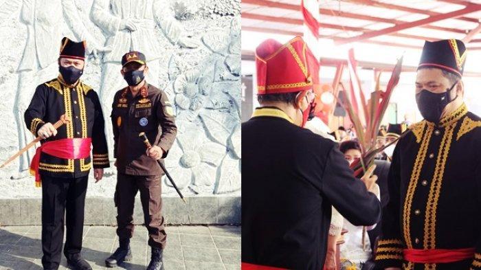 Jan Maringka Staf Ahli Jaksa Agung Ditetapkan jadi Tonaas Wangko Gumi'iroth Um Banua