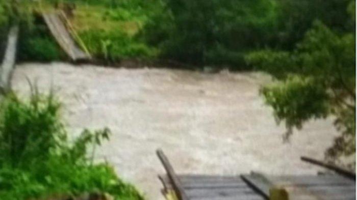 Jembatan Gantung Cawang Putus, 10 Orang Jadi Korban, 7 Meninggal dan 3 Hilang
