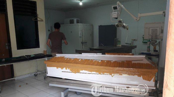 Keluarga Jemput Jenazah Viransi Tarek di Rumah Sakit, Peti Dibungkus Sebelum Dibawa ke Kalait