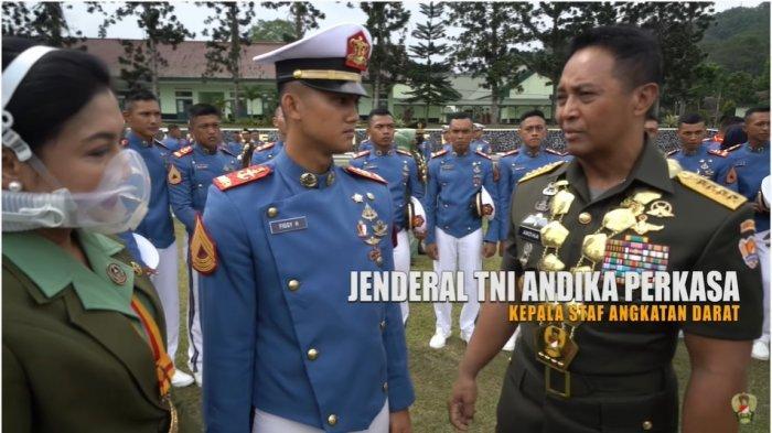 Sosok Letda Figgy Heryansyah, Sang Ayah Jadi Anak Buahnya, Ini Pesan Jenderal Andika Perkasa