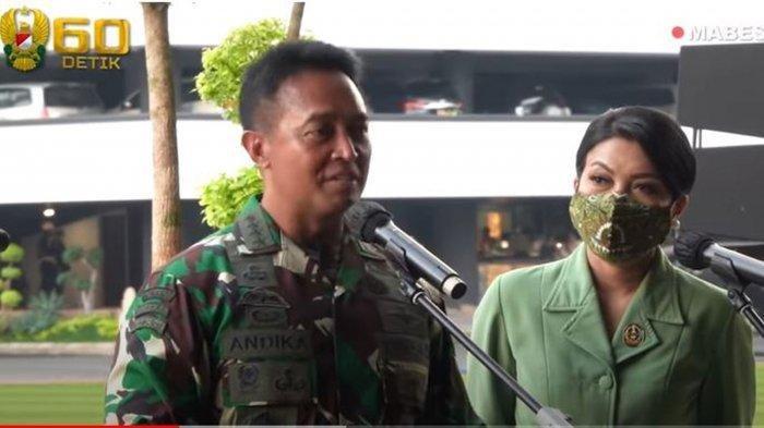 Momen Jenderal Andika Perkasa Terharu di Hadapan Para Perwira TNI AD dan Beri Pesan Menyentuh
