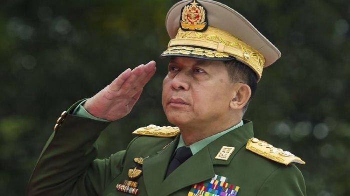 Panglima AD Myanmar Jenderal Min Aung Hlaing.