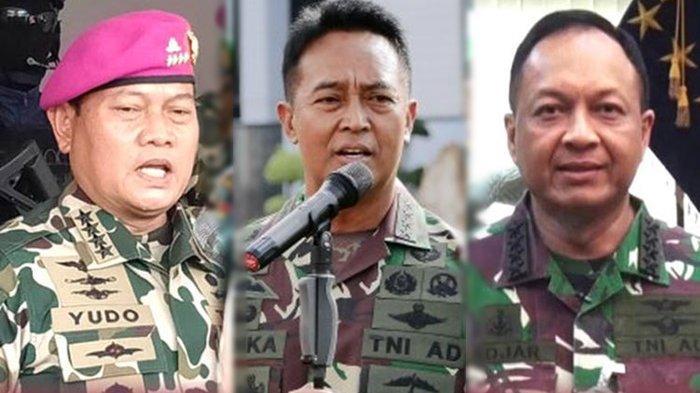 Profil dan Harta Kekayaan Tiga Kandidat Calon Panglima TNI, KSAD Andika Perkasa Paling Dominan