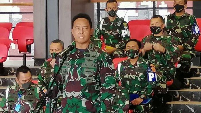 Jenderal TNI Andika Perkasa yang kini Menjabat KSAD. Calon kuat Panglima TNI, ini rincian besaran gajinya.