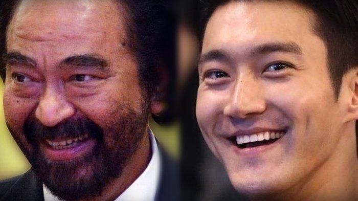 Kini Tampil Berjenggot, Choi Siwon Disebut Mirip Surya Paloh? Lihat Kemiripannya!