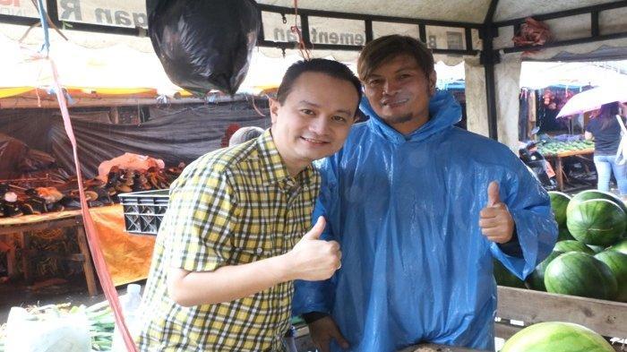 Turun ke Pasar, Dr Jerry Sambuaga Dengar Langsung Aspirasi Warga Kota Tomohon