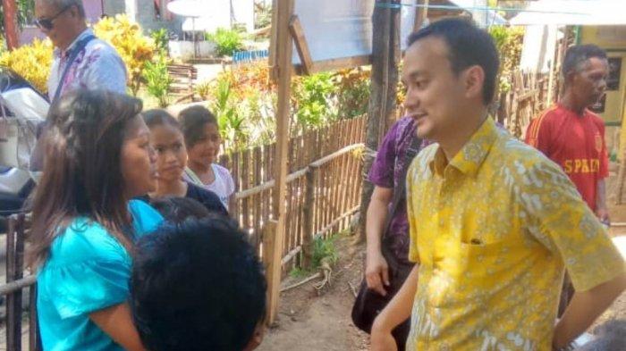 Dr Jerry Sambuaga Disambut Masyarakat Pulau Lembeh Bitung