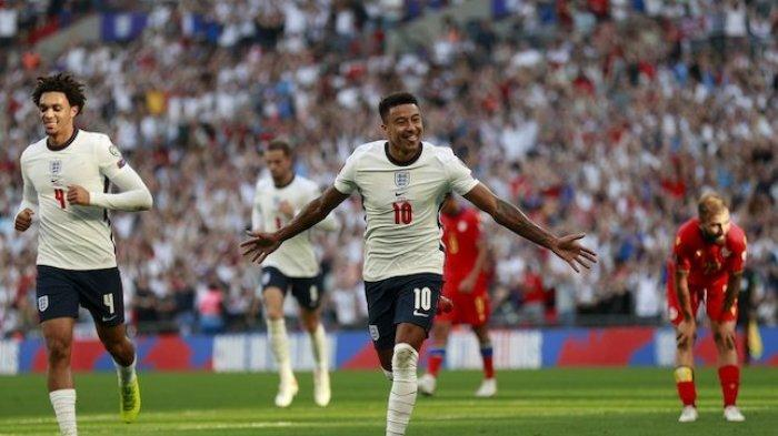 Hasil Kualifikasi Piala Dunia 2022 Inggris vs Andorra: Three Lions Pesta Gol, Catatan Apik Lingard