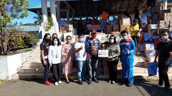 Aktivitas Penerimaan dan Penyaluran BBM Distop saat Kebakaran Pasar Tua Bitung