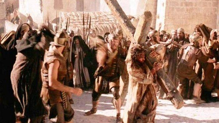 ILUSTRASI Yesus di film The Passion of The Christ.