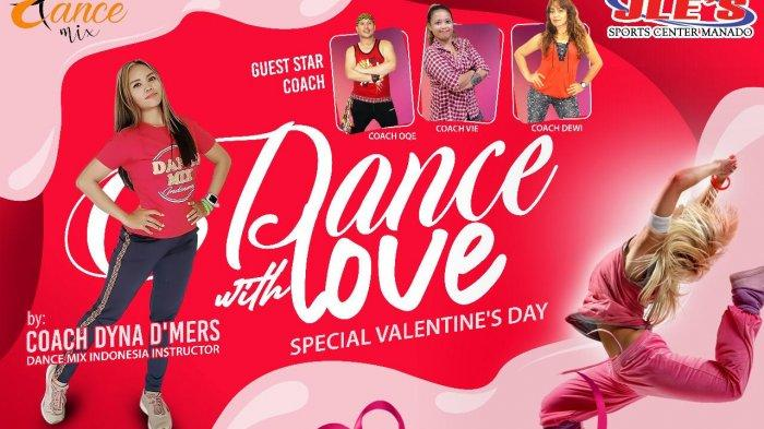 JLE'S Sports Center sukses gelar Dance with Love Special Valentines Day