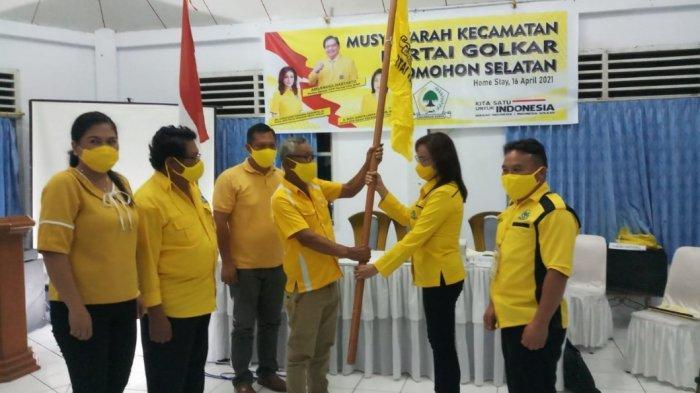 Pimpin Golkar Tomohon Selatan, Joice Pontoh: Tujuan Saya Besarkan Partai, Maju Pileg Belum Terpikir
