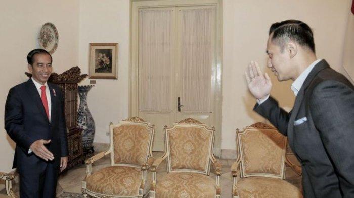 AHY Dapat Saingan 2 Kader Demokrat, Masuk Dalam Kabinet Menteri Jokowi-Ma'ruf, Ini Sosoknya