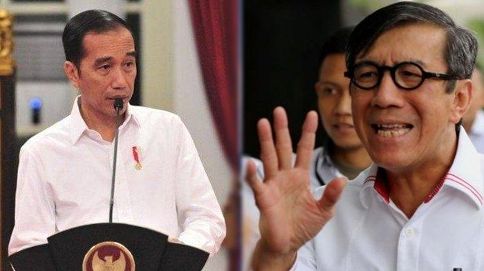 Jokowi Beri Peringatan Pada Jajaran Menteri, Lebih Khusus Menkumham: Hati-hati Membuat Pernyataan