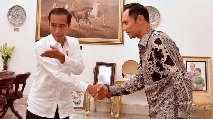 AHY Temui Jokowi, Prabowo Batal Jenguk Ani Yudhoyono, Demokrat Klarifikasi