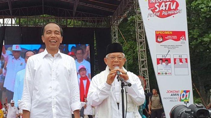 Tabel Kampanye Paslon 01 Akhir Pekan Ini: Jokowi - Ma'ruf  akan 'Putihkan' GBK & Sekitarnya