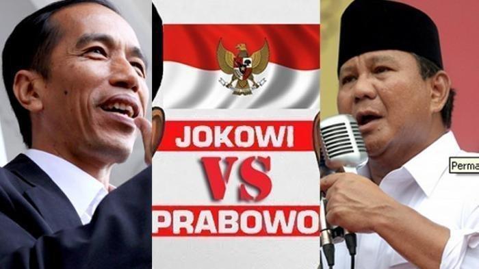 TERKINI: Real Count KPU Pukul 19.00 WIB: Jokowi-Maruf 55,19 %, Prabowo-Sandi 44,81%