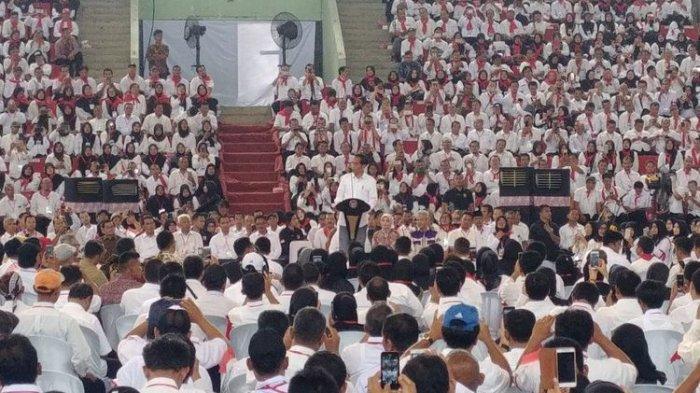Disoraki Huu Oleh Para Penyuluh Pertanian di Semarang, Ini Komentar Jokowi