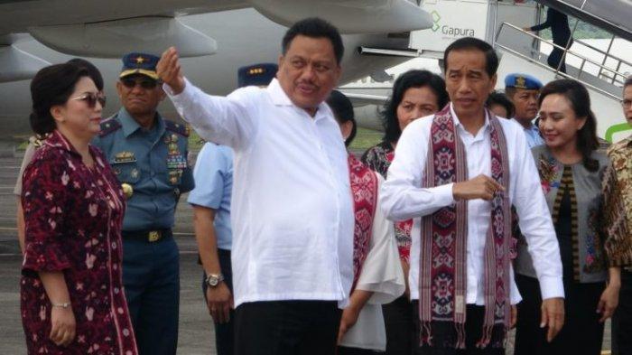 Jokowi Kunjungi Sulut,Daerah Ketiban Proyek Infrastruktur