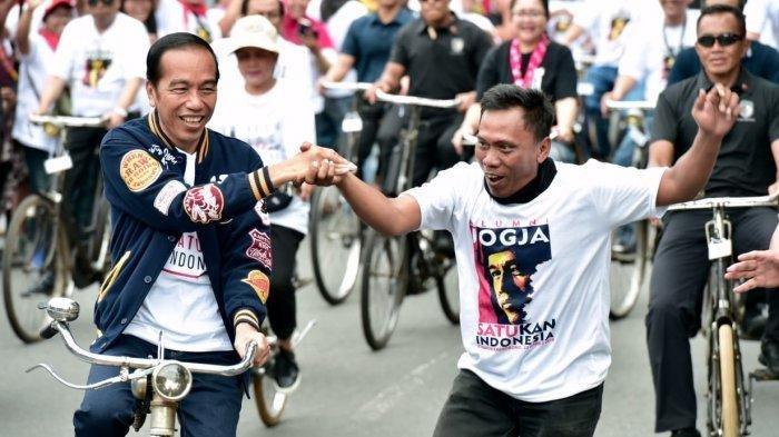 Jokowi Disapa Pendukung saat Hadir di Jogjakarta: Saya Berbahagia Sekali