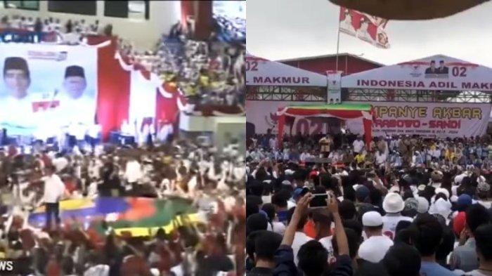 Ini Perbedaan Massa Kampanye Jokowi dan Prabowo di Palembang, Tonton Videonya