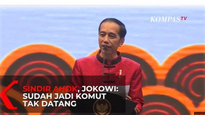 Jawaban Ahok Setelah Disindir Jokowi tak Datang Perayaan Imlek 2020, BTP: Hari Kerja