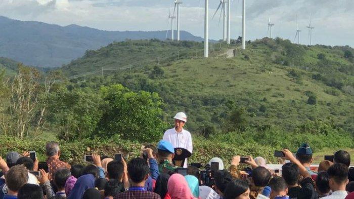 Jokowi: 'Saya kok serasa di Belanda, kayak di Eropa, tapi kita di Sidrap'