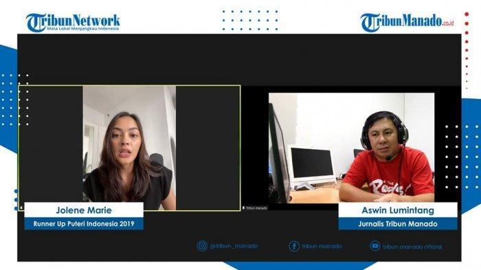 Jolene Marie Ungkap Kesibukan Selesaikan Majalah The Governor Indonesia di Tribun Baku Dapa