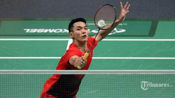Hasil Sementara Piala Sudirman 2019: Indonesia vs China Taipei Skor 1-2, Jojo Menyerah 2 Set Lansung