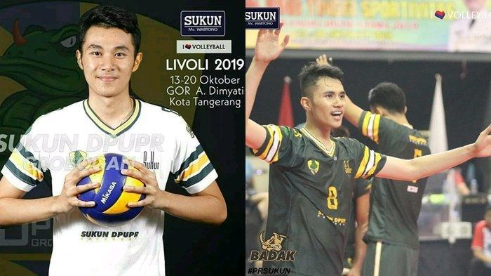 Atlet Bola Voli Sulut, Jordan Susanto Jadi Pemain Termuda di Livoli 2019