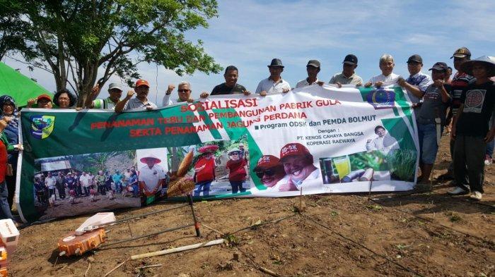 Joune Ganda Apresiasi Dukungan pemerintah Bolmut Pembangunan Pabrik Gula