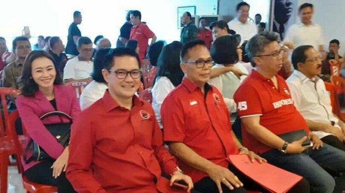 Joune Ganda Calon Tunggal Bupati Utusan PDIP Maju Pilkada Minut