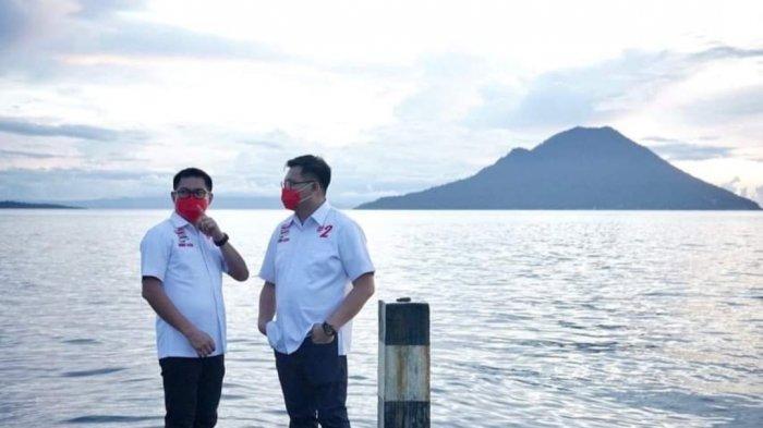 Joune Ganda & Kevin LotulungSiap Bersinergi Lakukan Penanganan dan Pengendalian Covid-19 di Minut