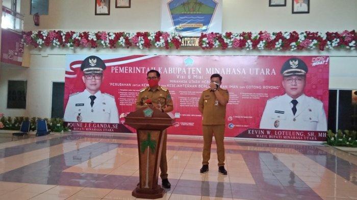 PPKM Level 4 di Minut, Joune Ganda Kampanyekan 'Covid Bukan Aib'