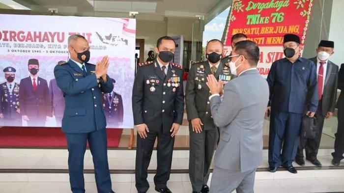 Hut TNI ke-76, Joune Ganda Sebut Peran TNI Atasi Covid 19 di Minut