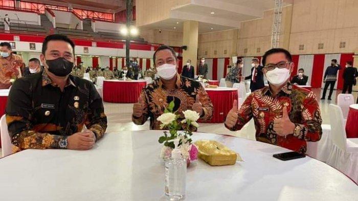 Joune Ganda Pukau Milenial IPDN Jatinangor, Tampil Bersama Menantu Jokowi