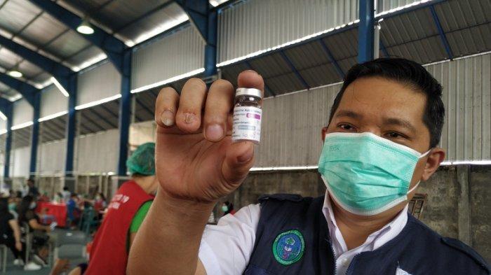 BREAKING NEWS Sulut Hentikan Sementara Penyuntikan Vaksin AstraZeneca, Dandel: Langkah Kehati-hatian