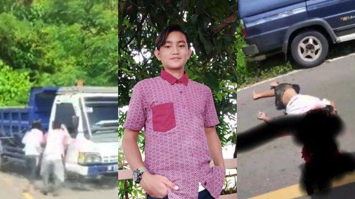 Selamat Jalan Julio, Bocah 14 Tahun Tewas Ditabrak Dump Truck Saat Cari Jaringan Belajar Online
