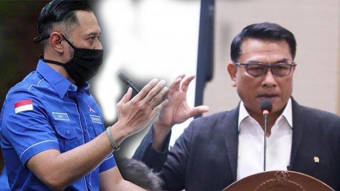 Kubu AHY Masih Simpan Amarah, Pasang Baliho untuk 'Serang' Moeldoko: Demokrat Merasa Difitnah