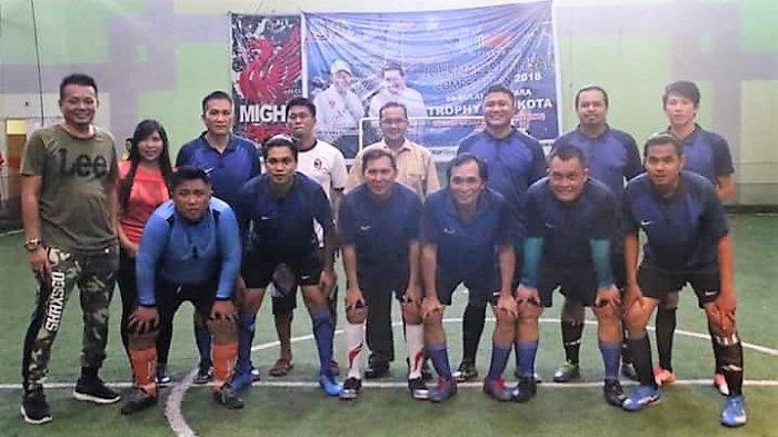 Jurnalis Kota Manado Targetkan Juara dalam Lomba Futsal Road to Manado Fiesta 2018